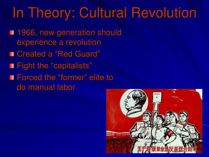 In Theory: Cultural Revolution