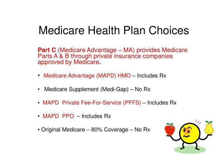 Medicare Health Plan Choices