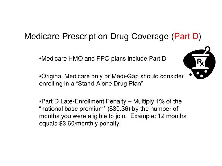 Medicare Prescription Drug Coverage (
