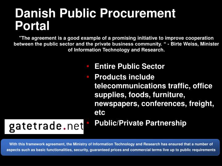 Danish Public Procurement Portal