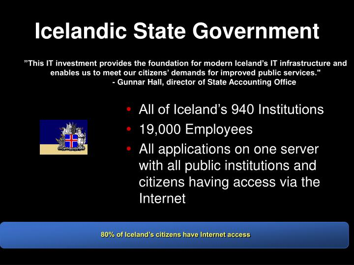 Icelandic State Government