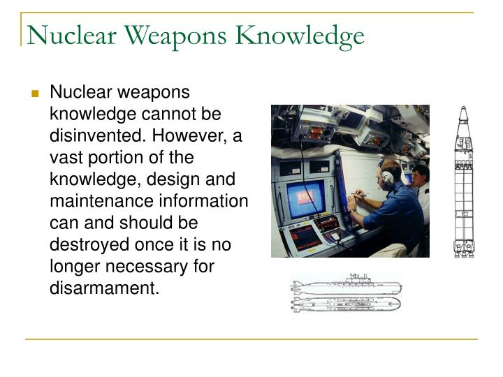 Nuclear Weapons Knowledge