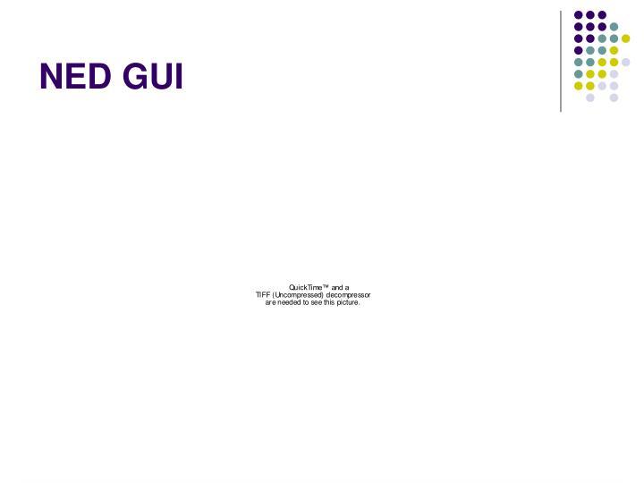NED GUI