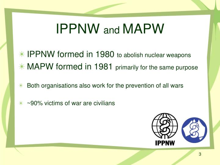 Ippnw and mapw