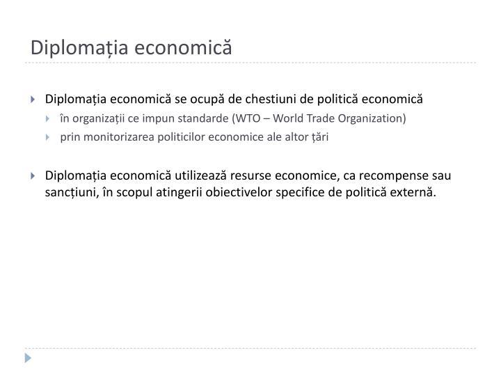 Diplomația economică