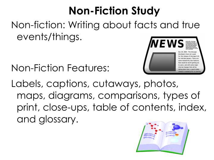 Non-Fiction Study