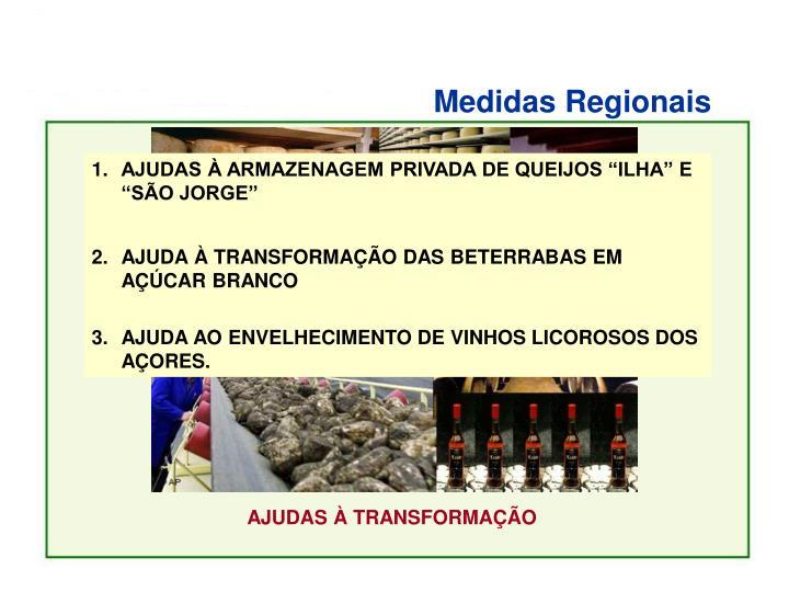 Medidas Regionais