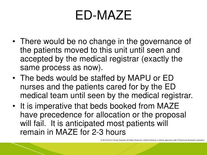 ED-MAZE