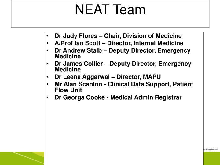 NEAT Team