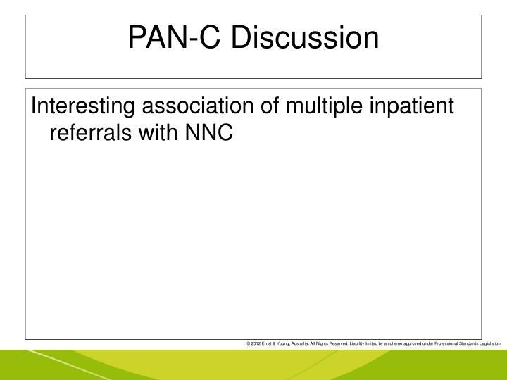 PAN-C Discussion