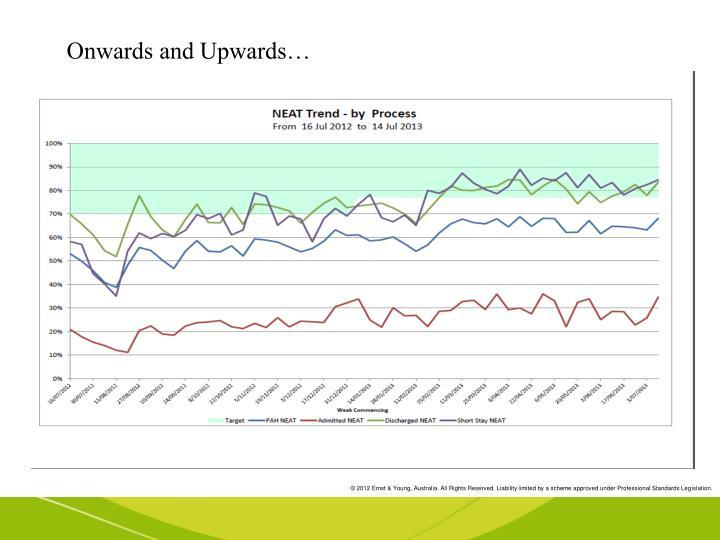 Onwards and Upwards…