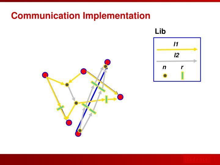 Communication Implementation