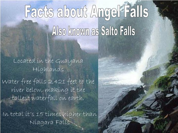 Facts about Angel Falls
