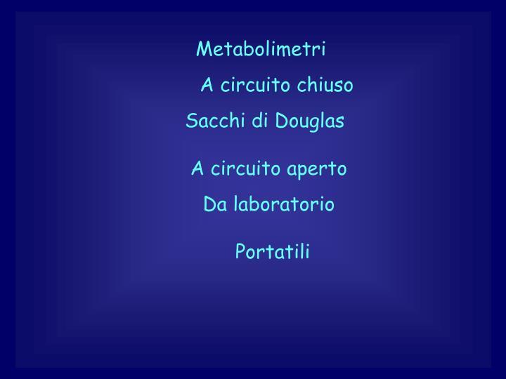 Metabolimetri