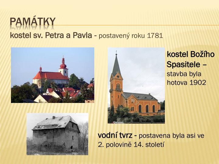 kostel sv. Petra a Pavla -