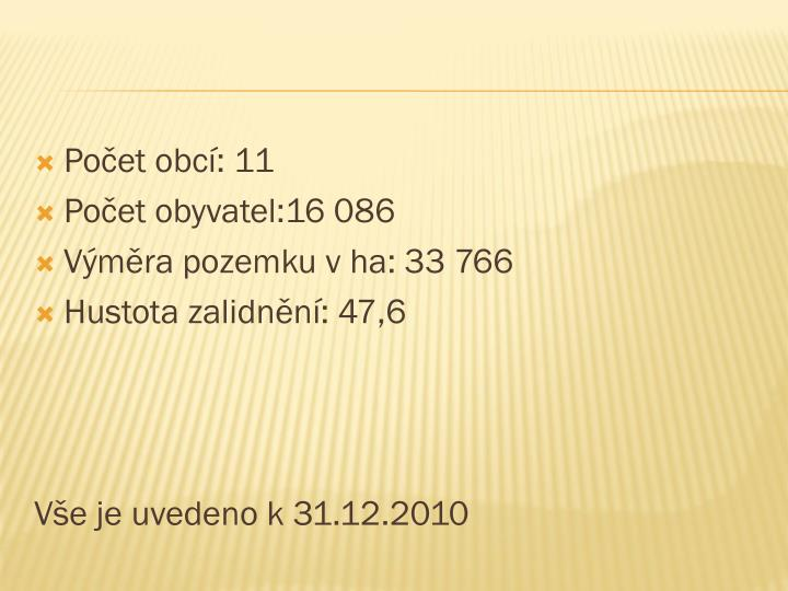 Počet obcí: 11