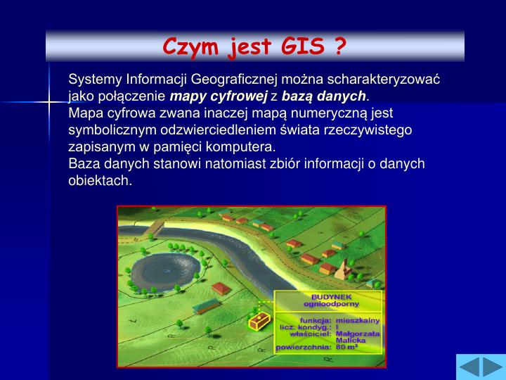 Czym jest GIS ?