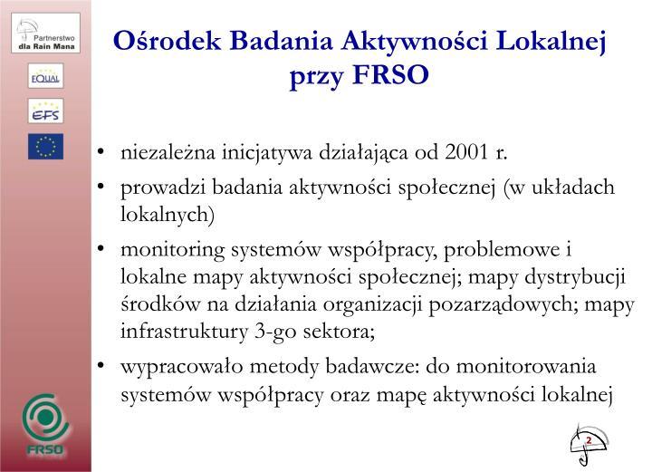 Ośrodek Badania Aktywności Lokalnej
