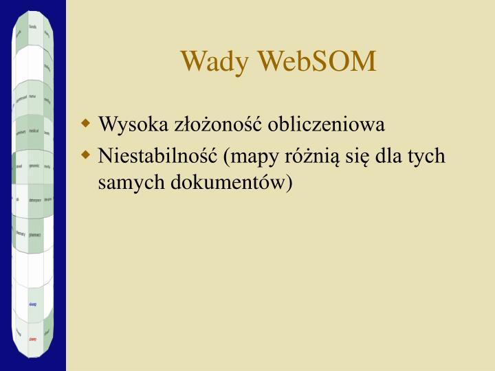 Wady WebSOM