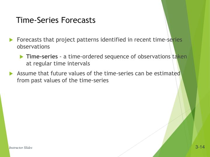 Time-Series Forecasts