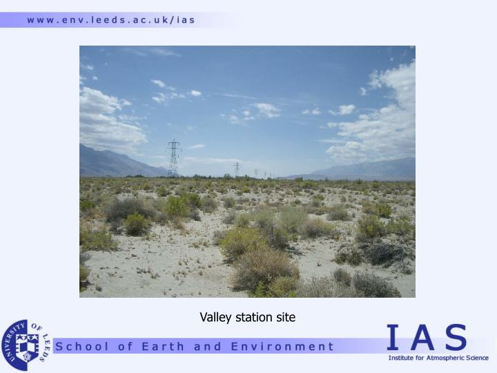 Valley station site