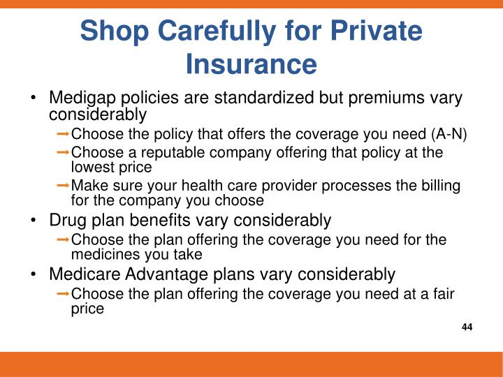 Shop Carefully for Private Insurance
