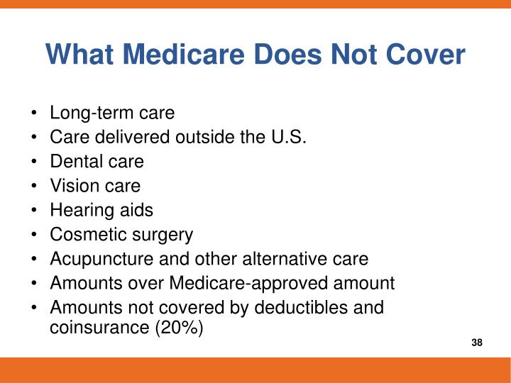What Medicare Does Not Cover