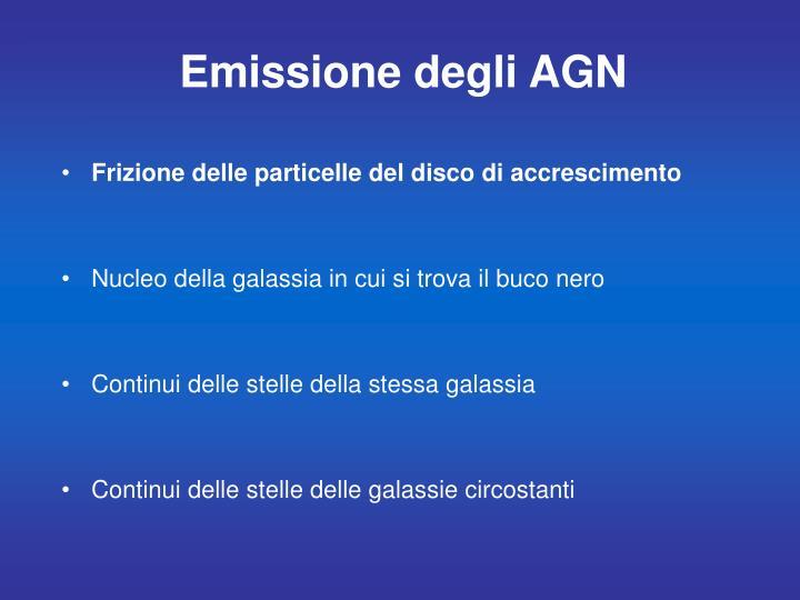 Emissione degli AGN