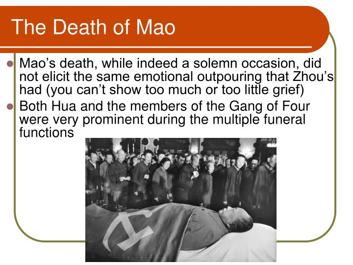 The Death of Mao