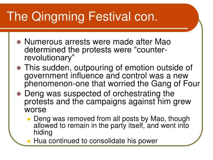 The Qingming Festival con.
