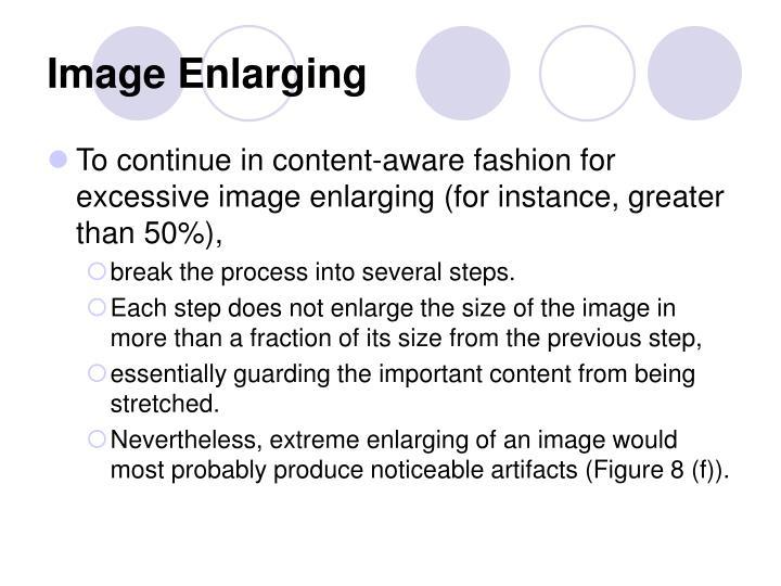 Image Enlarging