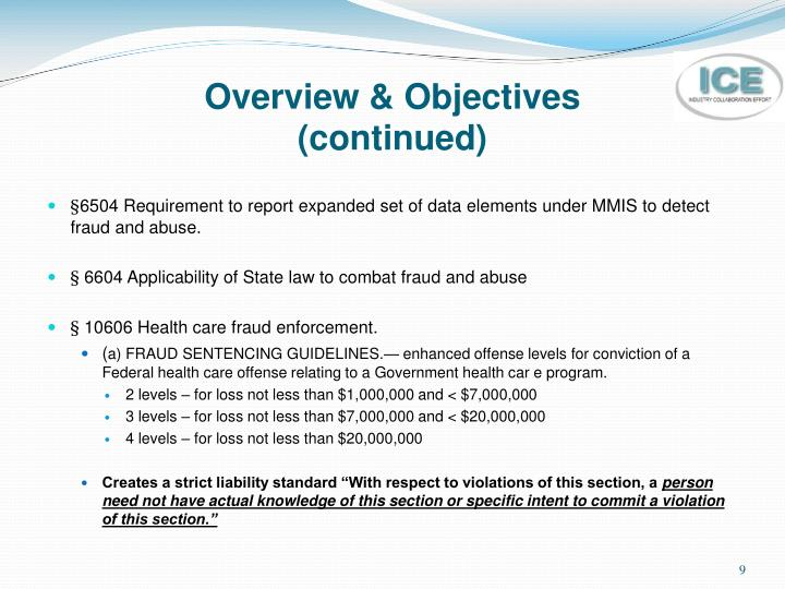 Overview & Objectives