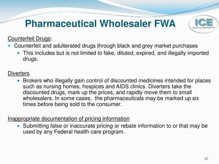 Pharmaceutical Wholesaler FWA