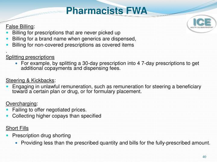 Pharmacists FWA