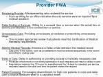 provider fwa1