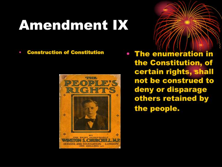 Construction of Constitution