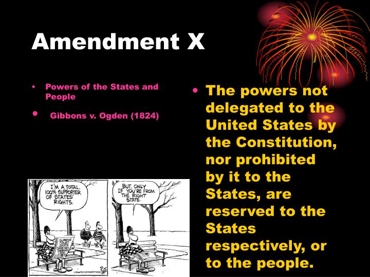 Powers of the States and People
