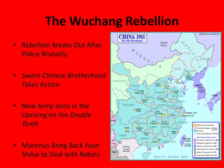 The Wuchang Rebellion