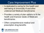 care improvement plus