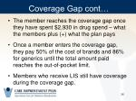 coverage gap cont