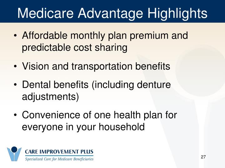 Medicare Advantage Highlights