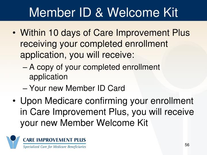 Member ID & Welcome Kit