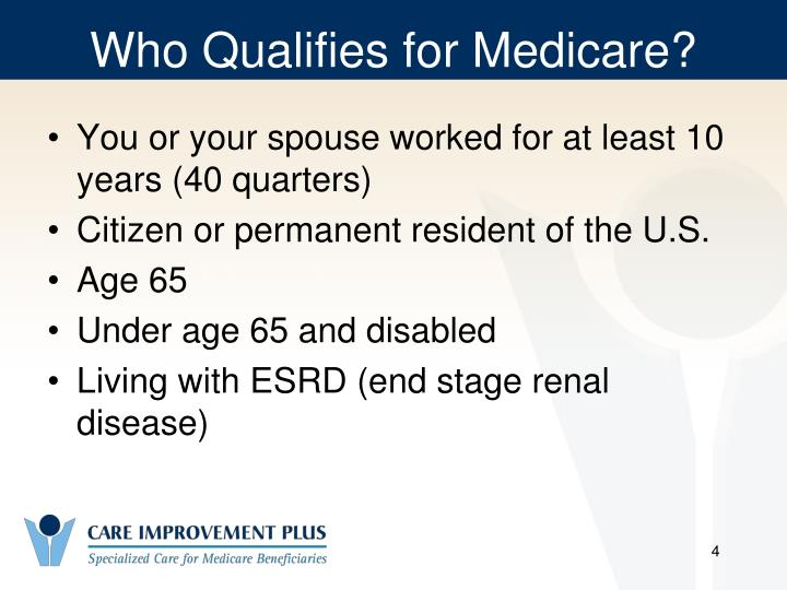 Who Qualifies for Medicare?