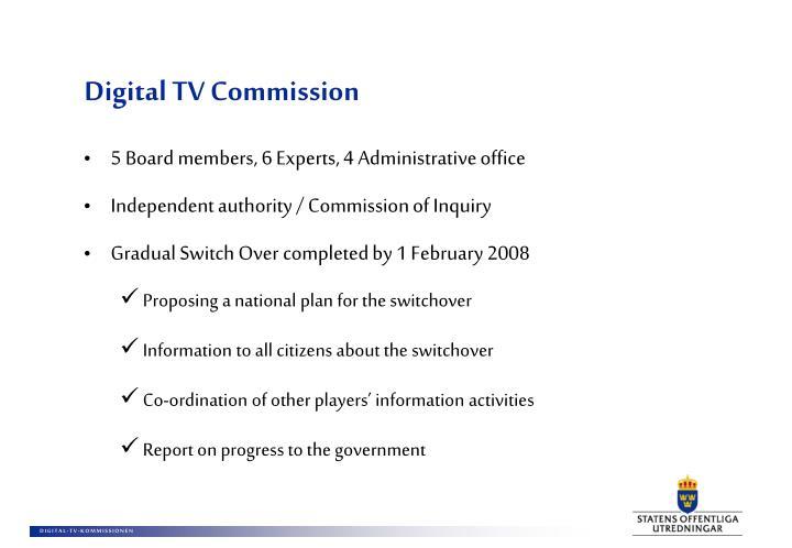 Digital TV Commission