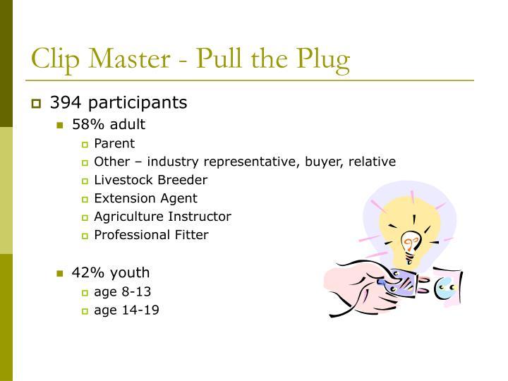 Clip Master - Pull the Plug