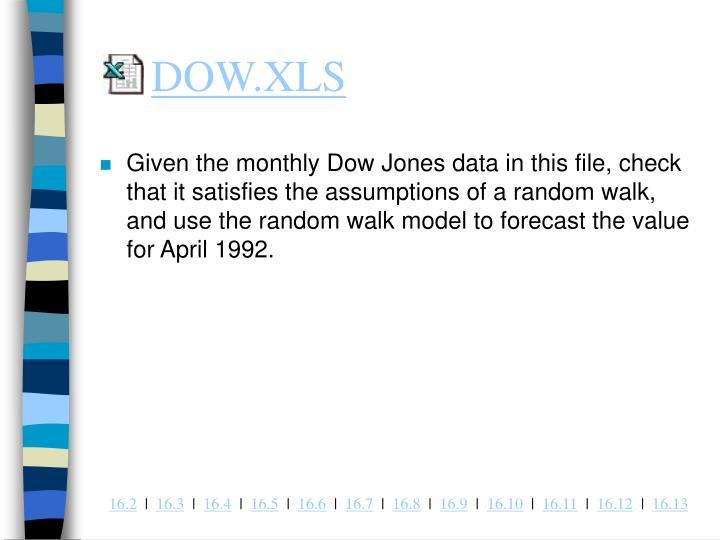 DOW.XLS