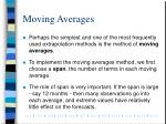 moving averages1