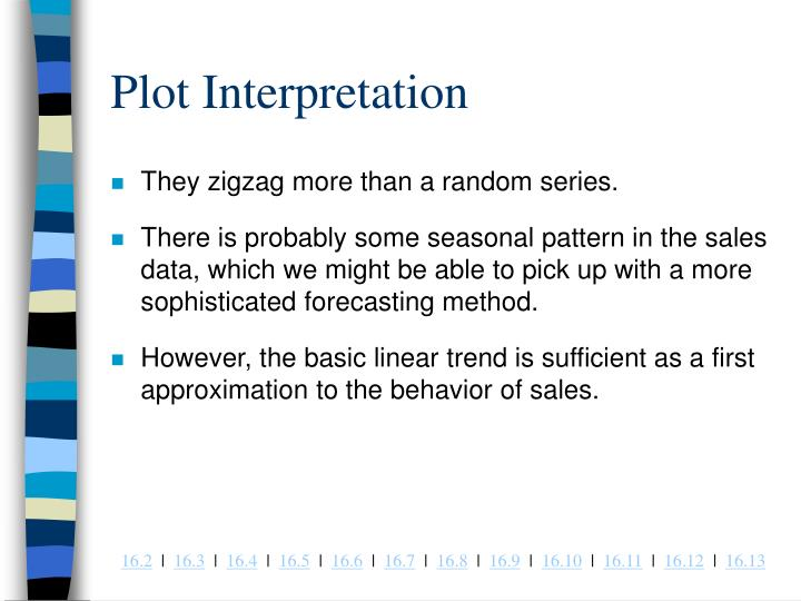Plot Interpretation