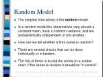 random model