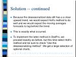 solution continued6